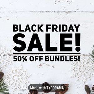Accessories - All bundles 50% off today!